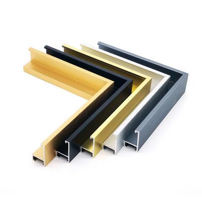 Aluminum photo frames moulding custom size and design for home decoration