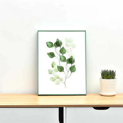Custom aluminum photo and picture frames for home decoration