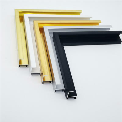 aluminum frame profiles for photo and picture decorations