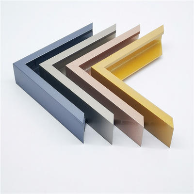 aluminium picture frames&aluminum frame extrusion profiles