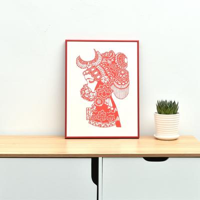 red color aluminum picture frames custom sizes OEM or OMD service