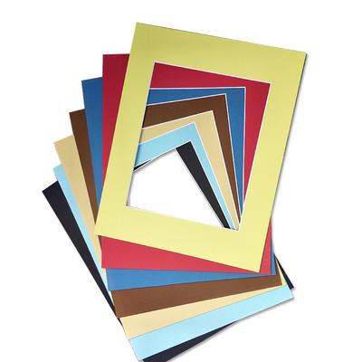 Acid free backing paper mat board