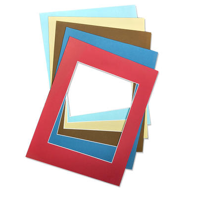 custom size of mat board for picture frames various of colors